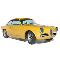 ALFA GIULIETTA SPRINT VELOCE CAR COVER 1954-1965