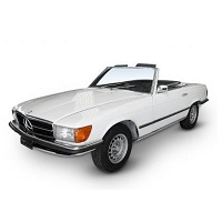 MERCEDES SL CAR COVER 1971-1989 R107