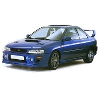 IMPREZA P1 2 DOOR CAR COVER 2000-2001