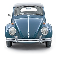 VW BEETLE CAR COVER UP TO 1975