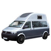 VW TRANSPORTER T5 SWB HIGH TOP CAR COVER 2003-2014