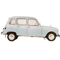 RENAULT 4 CAR COVER 1961-1993