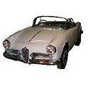 ALFA GIULIETTA CAR COVER 1954-1965