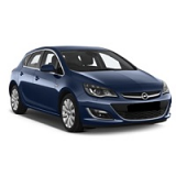 VAUXHALL ASTRA CAR COVER 2009-2015