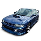 IMPREZA CAR COVER 1992-2000 WITH SPOILER